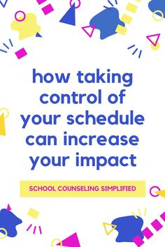 In today's episode, I share how taking control of your schedule can increase your impact! By freeing up time in your schedule you can help more students. My challenge to you: try a time audit and mindset shift to get started. #elementaryschoolcounseling #middleschoolcounselor #schoolcounselor #counselorsofinstagram #counselorsfollowcounselors #schoolcounselingsimplified #schoolcounselingsimplifiedpodcast #counselingpodcast #schoolcounselingpodcast Middle School Counselor, Elementary School Counseling, Elementary Schools, Social Emotional Learning, Social Skills, Welcome To School, Bullying Prevention, Character Education, Lesson Plans
