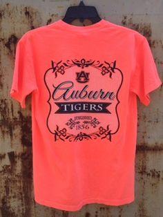 Auburn University Tigers Flora Crew Tee (SKU WOMEN'S TEBD515152  11829515)