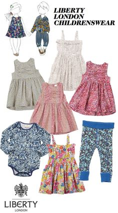 Iconic Liberty London Launch Childrenswear Range