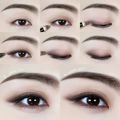 Soft Everyday Eye Makeup Tutorial Soft Everyday Eye Makeup Tutorial Hey, dear ones! It's a new month and we're starting a hands-on tutorial for everyone on a gentle eye make-up. Regardless of your eye color. Korean Makeup Look, Korean Makeup Tips, Asian Eye Makeup, Natural Eye Makeup, Korean Makeup Tutorial Natural, Korean Eyeshadow, Asian Wedding Makeup, Yellow Eyeshadow, Soft Makeup
