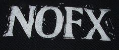 NOFX ''logo'' Patch $1.45 #punk #music #punkpatches #clothing www.drstrange.com