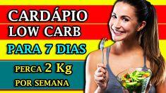 Cardápio Dieta Low Carb - Para 7 Dias - Perca até 2 QUILOS em uma semana  #dietalowcarb   #cardapiolowcarb Dieta Low, Personal Trainer, Stress, Menu, Youtube, Blog, Internet, Lose 5 Pounds, Lose Belly