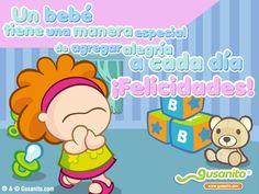 Mensajes para felicitar por la llegada de un bebé - Imagui