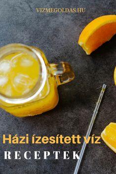 Méregtelenítés - Szuperzsírégető citrusos házi ízesített víz és társai