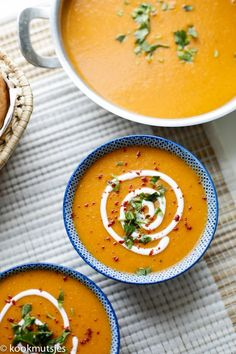 Vegetarian Soup, Vegetarian Cooking, Vegetarian Recipes, Healthy Recipes, Vegan Food, Best Lentil Soup Recipe, Red Lentil Recipes, Vegan Zuppa Toscana Recipe, Vegan Minestrone Soup