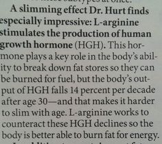 Supplementing with L-arginine, research by Dr. Guoyao Wu, in First for Women, Dec. 8, 2014.