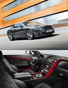 2015 Bentley Continental GT Speed - The 2015 Continental GT Speed is equipped with a 6-liter twin-turbo V12 that produces 626 hp with a top speed of 206 mph. | via Werd