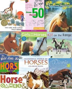Childrens Books  10 great horse books for kids  #horses  #horsebooksforkids