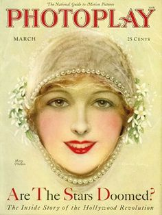 Mary Philbin - Photoplay - March 1928