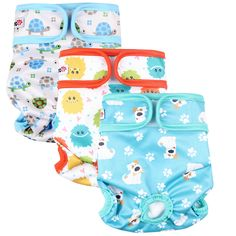 Wegreeco Luxury Washable Reusable Dog DiapersNew Pattern  Durable Female Dog Diapers Stylish Doggie Diapers 3 PACK InspiringSmall *** You can find more details by visiting the image link. (This is an affiliate link) Female Dog Diapers, Stylish Baby Clothes, Gender Female, Pet Supplies, Packing, Puppies, Pets, Pattern, Ebay