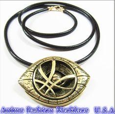 Doctor Strange alloy Necklaces Pendants for Men Eye Shape Lpendant Necklace