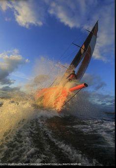 Team AlviMedica Volvo Oceanrace 2014-2015