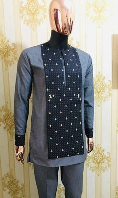 Call, SMS or WhatsApp if you want this style, needs a skilled tailor to hire or you want to expand more on your fashion business. African Wear Styles For Men, African Shirts For Men, African Dresses Men, African Attire For Men, African Clothing For Men, African Inspired Clothing, Traditional African Clothing, Nigerian Men Fashion, African Men Fashion