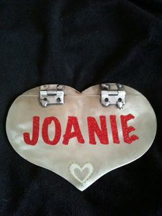 My valentine card my husband made me (back)
