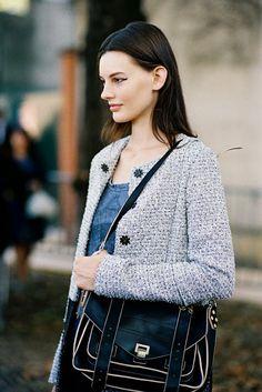 Paris Fashion Week SS 2015....Amanda