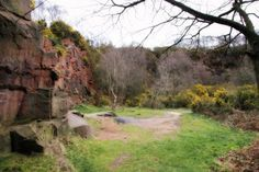 Irby Quarry, near Greasby, Wirral.