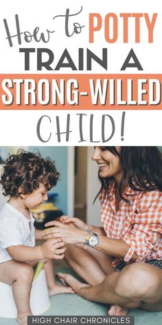 Potty training hacks don't always cut it, especially if your child is strong-willed. It took several months to potty train our strong willed toddler, but we did it! Here are all our potty training tips and how we loosely followed the Oh Crap! method. Use these potty training tips for potty training boys or girls!