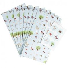 Woodland Party Bags with Stickers