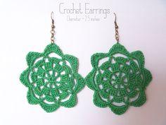 DANDELION SUNRISE: Crochet Earrings Pattern