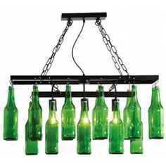 Beer Bottles hanglamp - Kare Design!