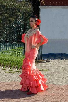 eccb64e44a4a Traditional flamenco dresses Fiesta Dress, Flamenco Dresses, Dance Dresses,  Mexican Heritage, Folk