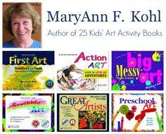MaryAnn Kohl Author of 25 Kids Art Activity Books