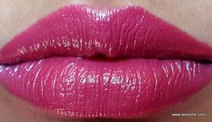Maybelline ColorShow Lipstick Violet Fusion Review and Swatches