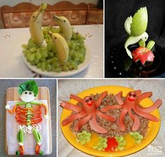 Fantastic ways of serving meals