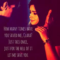 My beautiful OTP. Looks like it's gonna crash and burn though with an older doctor. Oh well. :(
