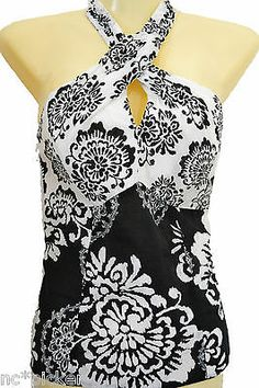 White House Black Market Halter . love halter tops. my favorite,
