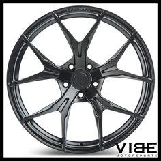 "20"" ROHANA RFX5 BLACK FORGED CONCAVE WHEELS RIMS FITS MASERATI QUATTROPORTE #Rohana #rfx5 #wheels #forged #maserati #quattoporte #vibemotorsports"