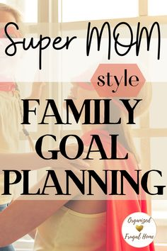 Family Budget, Goal Planning, How To Get, How To Plan, Super Mom, Family Goals, Mom Style, Getting Things Done, Frugal
