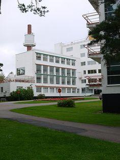 a+t - Alvar Aalto. Paimio Sanatorium. Turku. Finland