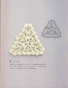 giftjap.info - Shop Online | Japanese book and magazine handicrafts - Hand Knitting Note - Crochet Motif and Edging