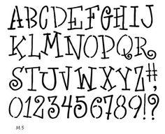 One Crafty Mama Online Scrapbook StoreTemplates - Stencils - Phrases/Alphabets - Kwirky Kaps Alphabet Template Stencil Lettering, Hand Lettering Fonts, Doodle Lettering, Lettering Ideas, Brush Lettering, Alphabet Templates, Alphabet Stencils, Typography Alphabet, Typography Fonts