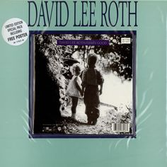 """For Sale - David Lee Roth Damn Good + Poster UK  7"""" vinyl single (7 inch record) - See this and 250,000 other rare & vintage vinyl records, singles, LPs & CDs at http://eil.com"""
