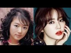 shocking faces pictures! Famous Korean Actresses Before And After Plastic Surgery