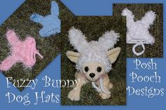Ravelry: Fuzzy Bunny Dog hat - Bunny Dog Beanie pattern by Sara Sach Dog Beanie, Lion Hat, Bunny Hat, Beanie Pattern, Pet Accessories, Easter Bunny, Crochet Patterns, Crochet Hats, Kids Rugs