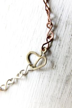 Heart of Brass Bracelet