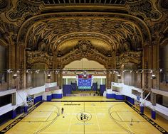 Innovative adaptive reuse project that saw an historic Brooklyn movie palace become state of the art basketball court.