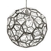 Bathroom pendant light - Replica Tom Dixon Etch Web Pendant | Sokol Designer Furniture