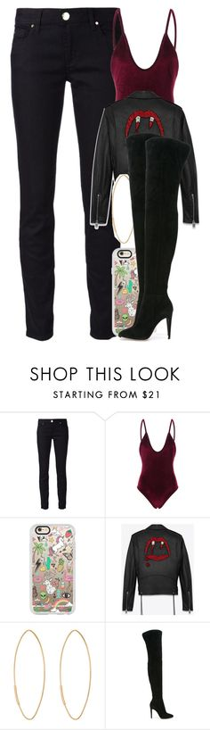 """""""Untitled #4310"""" by dianna-argons-lover ❤ liked on Polyvore featuring Versace, WithChic, Casetify, Yves Saint Laurent, Lana and Gianvito Rossi Warm Outfits, Mode Outfits, Casual Outfits, Fashion Outfits, Womens Fashion, Shirt Outfit, My Outfit, Yves Saint Laurent, Outfits Fiesta"""