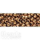 These Japanese seed beads from Toho are great for any project which requires a larger size 8 seed be Seed Beads, Dog Food Recipes, Seeds, Metallic, Bronze, Japanese, Projects, Log Projects, Blue Prints
