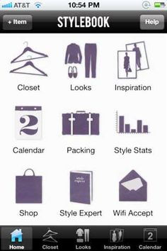 Stylebook: Take your closet on the go with this handy app-perfect for planning a trip! $3.99