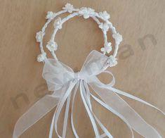 Στεφανάκι λευκό! Wedding Favors, Band, Health, Decor, Fashion, Wedding Keepsakes, Moda, Sash, Decoration