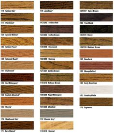 wood floor stain colors from Duraseal by Indianapolis hardwood floor service Great Indoors Wood Floors, Medium Brown. Hardwood Floor Stain Colors, Wood Stain Colors, Refinishing Hardwood Floors, Diy Flooring, Paint Colours, Flooring Ideas, Laminate Flooring, Duraseal Stain, Wood Ladder