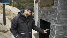Bjørn bygger bo – Murt røykovn