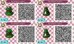 Animal Crossing: New Leaf Community - Animal Crossing: New Leaf Link's Outfit Code, Sticker Book, and Town Layout Chart