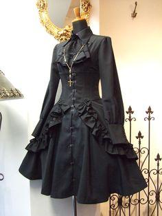 Atelier Boz über alles — New Releases: Atelier Boz - Leila Mini Skirt. Kawaii Fashion, Lolita Fashion, Cute Fashion, Gothic Fashion, Victorian Fashion, Fashion Outfits, Gothic Dress, Gothic Outfits, Lolita Dress