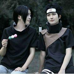 Itachi and Shisui Uchiha Cosplay ♥♥♥ #realistic #friends #Sharingan #bonds #sacrifice